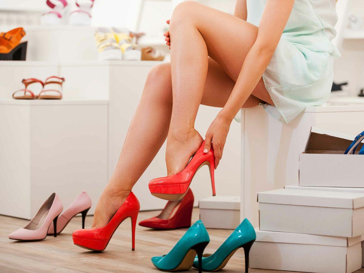 genre chaussures talons pieds